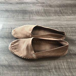 Adam Tucker Seaside Loafers Sz 8.5 Brown Leather